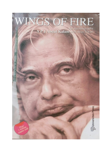 wings of fire an autobiography of The autobiography first published in english, has so far been translated and published in 13 languages including hindi, english, telugu, tamil, malayalam, odia, marathi, and gujarati outside of the major indian languages , wings of fire was translated into chinese (titled huo yi , by ji peng), and translated into french.