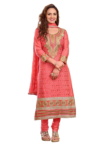 3e077627a3 Shree Vardhman Women's Gazri cotton unstitched Straight Salwar Suit dress  material