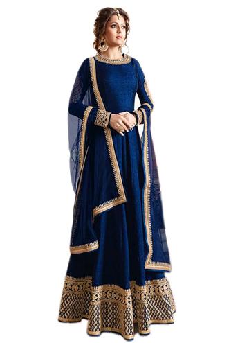 Generic Aryan Fashion Women S Anarkali Dresses Suits Bishwa Bazaar