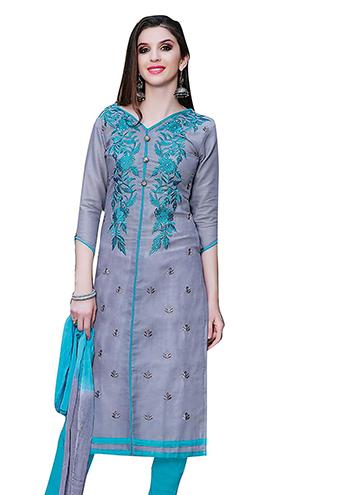1142c761b1 Women's Cotton Embroidery Salowar Suit – Bishwa Bazaar
